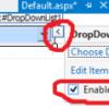 Asp.NET DropDownList Kullanımı Resimli Anlatım