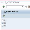 Sap Abap Egitimi – CheckBox Kullanımı