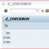 Sap Abap Egitimi – CheckBox Kullanımı