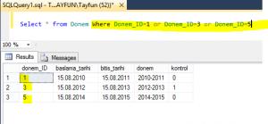 Sql Server Like Komutu Kullanimi-Ders2