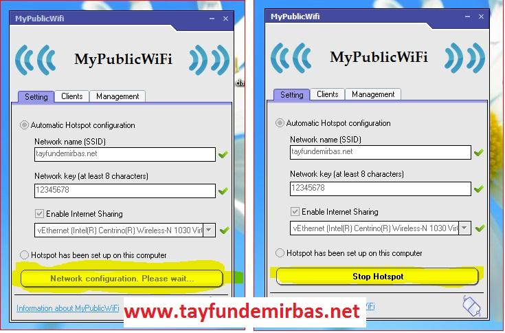 MyPublicWiFi-kullanimi